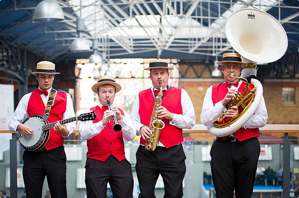 Knees Up Agency Dixie Street Stompers