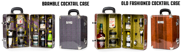 Tipplesworth Old Fashioned and Bramble Cocktail Cases