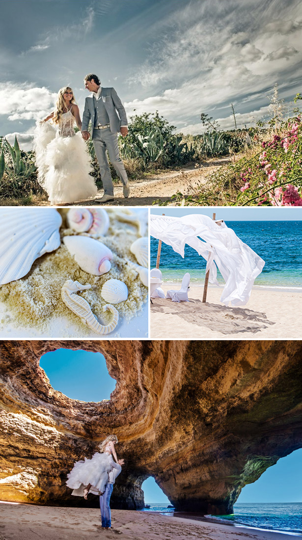 Kirsten & Jordi's Real Wedding in Portugal