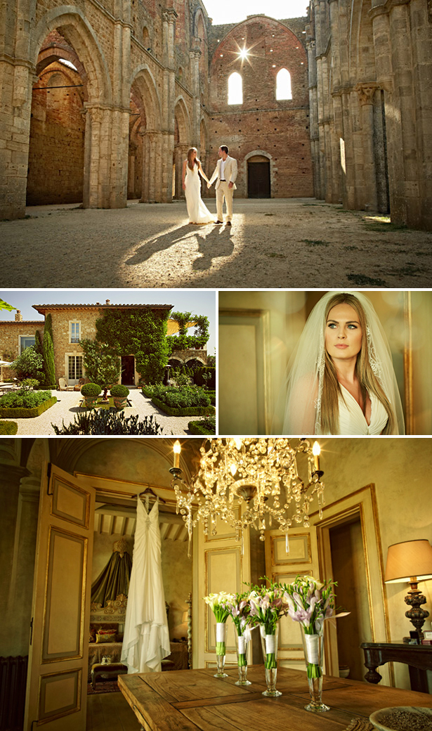 Amy & Charles's Real Wedding In Italy