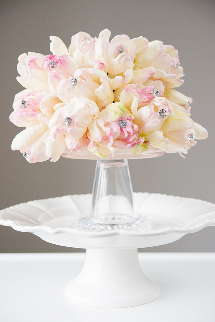 Pink and Cream Sparkling Bouquet | Confetti.co.uk