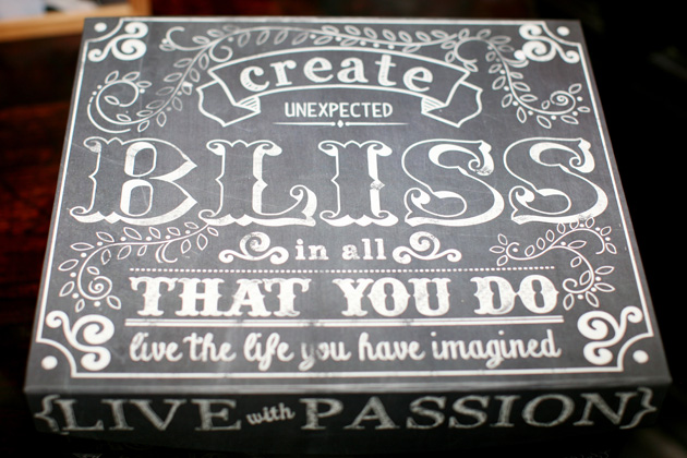 'Create unexpected bliss in all that you do, live the life you have imagined' | Confetti.co.uk