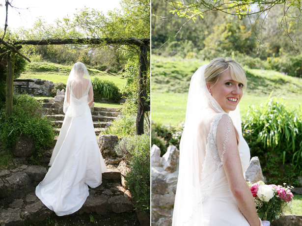 The bride in a Sophie Tulle Blush Pink Wedding Dress   Ava Images   Confetti.co.uk