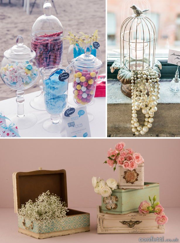 Elevated Wedding Table Decorations