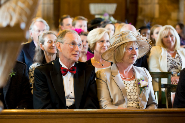 Wedding guests at the ceremony | Confetti.co.uk