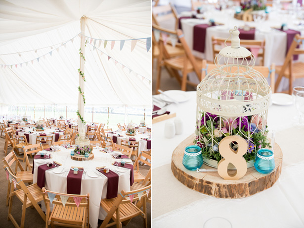 Rustic bird cage wedding centrepiece | Confetti.co.uk