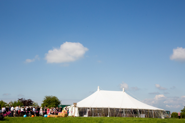 Wedding marquee in Sampford Courtenay | Confetti.co.uk