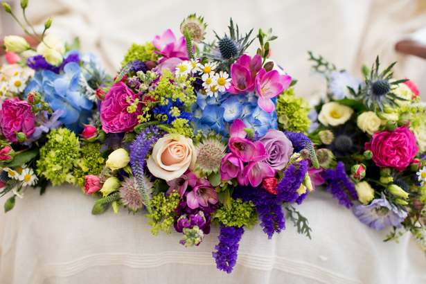 Mix array of wild flower bridal bouquet | Confetti.co.uk