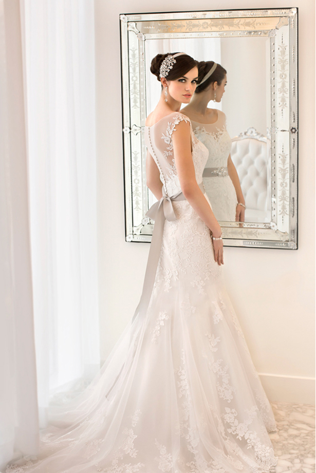Kudos Couture Bridal and Evening Wear Lace Wedding Dress| Confetti.co.uk