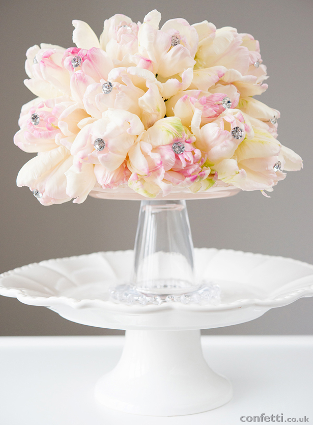 Pink and Cream Sparkling Bouquet