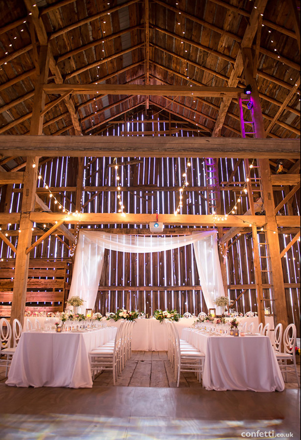 Barn Wedding Venue with Rustic Theme | Confetti.co.uk