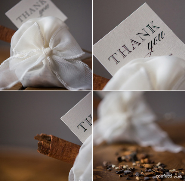 We guaran-tea your guests will love this autumnal wedding favour from Confetti.co.uk