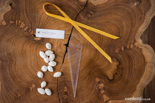 DIY Pumpkin seed autumn wedding favour supplies from Confetti.co.uk
