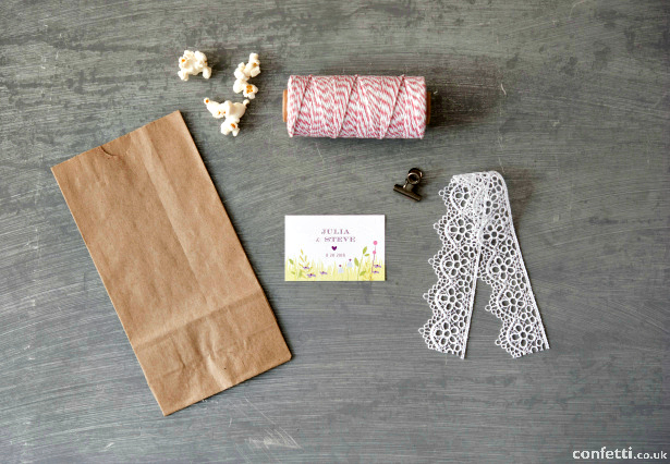 A Little Lace Favour Bags Supplies | Confetti.co.uk