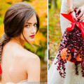 Autumn Woodland bride hair and make up and bridal bouquet inspiration