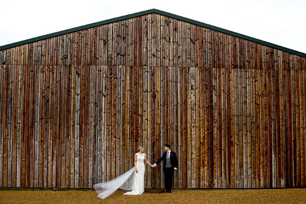 Bruisyard Hall and barn, an ideal rustic wedding venue
