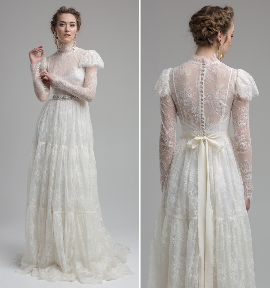 Lace Wedding Dresses 11 of the Most Beautiful Lace Bridal Gowns