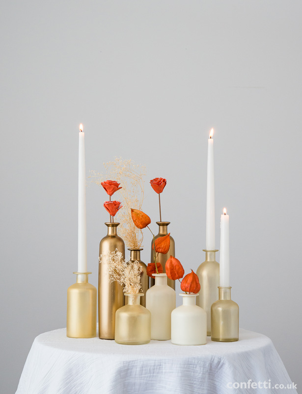 Autumn Wedding Decor Statement Table | Confetti.co.uk
