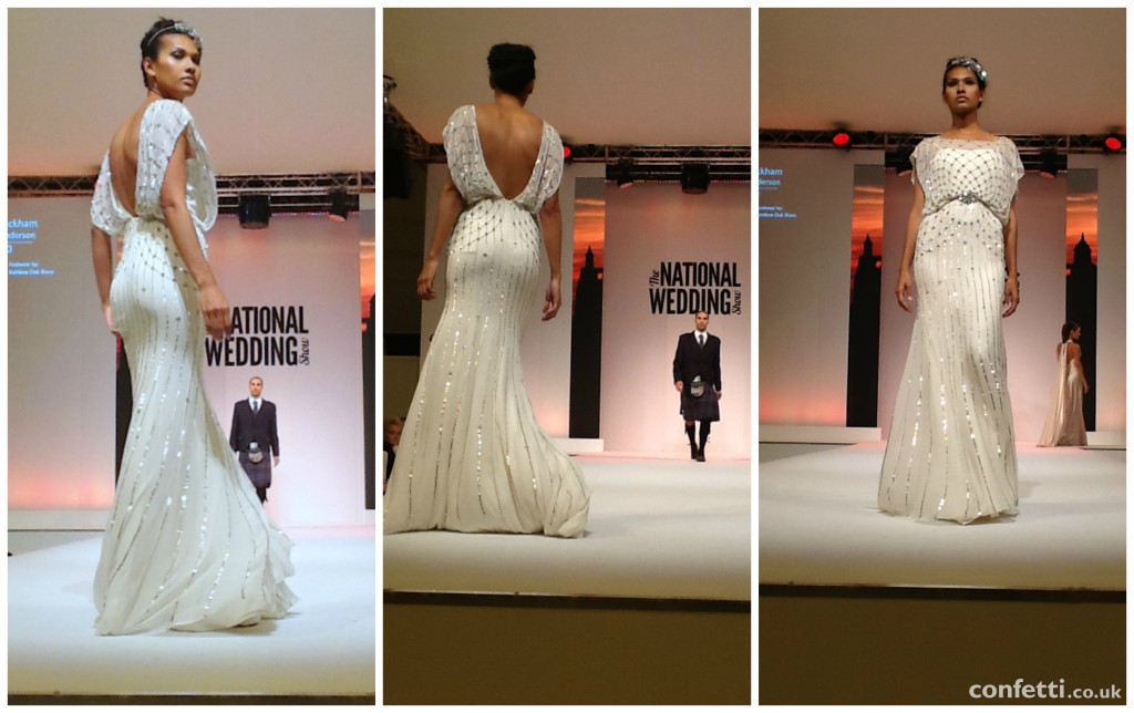 Emerging 2015 bridal trend: ornate dress backs | Confetti.co.uk