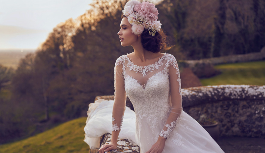PH6028 Ballgown Lace Wedding Dress by Phoenix Gowns - Princess Wedding Dresses | Confetti.co.uk