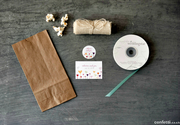 Vintage Burlap Favour Bag Supplies | Confetti.co.uki