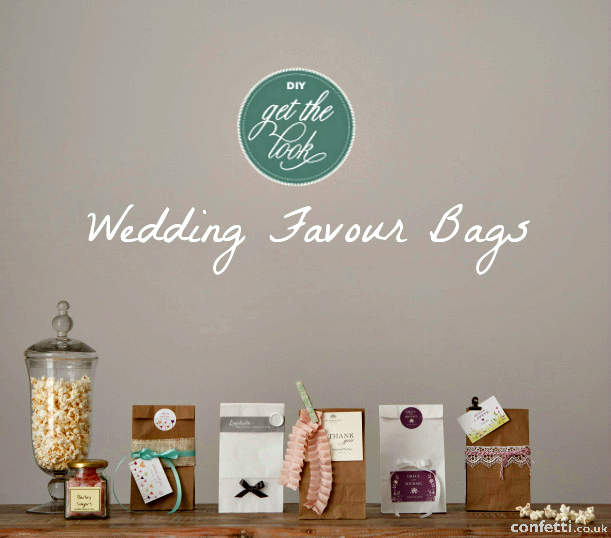 DIY Wedding Favour Bags Tutorial  Confetti.co.uk