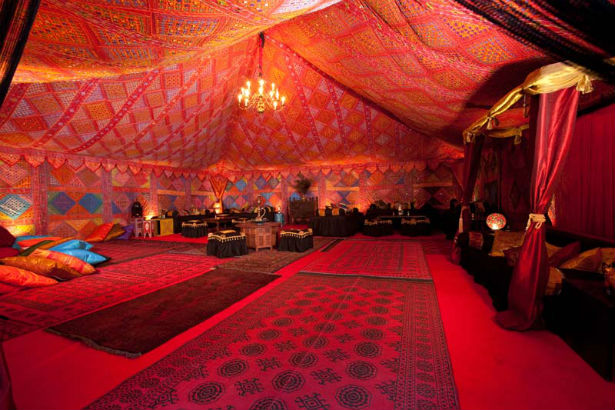 Autumn glow by The Arabian Tent Company