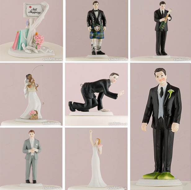 Interchangeable cake toppers | Confetti.co.uk