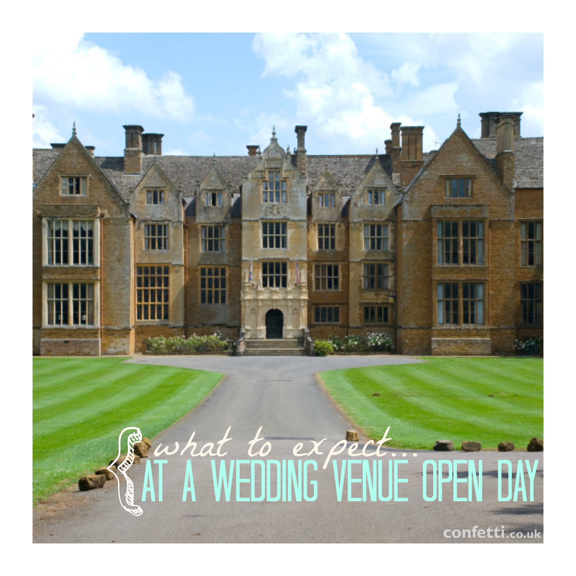 What to Expect at a Wedding Venue Open Day - Confetti.co.uk