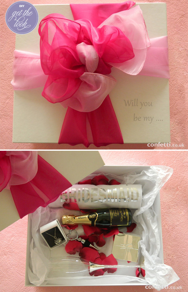 DIY Bridesmaid Proposal Tutorial | Will you be my bridesmaid? | Confetti.co.uk