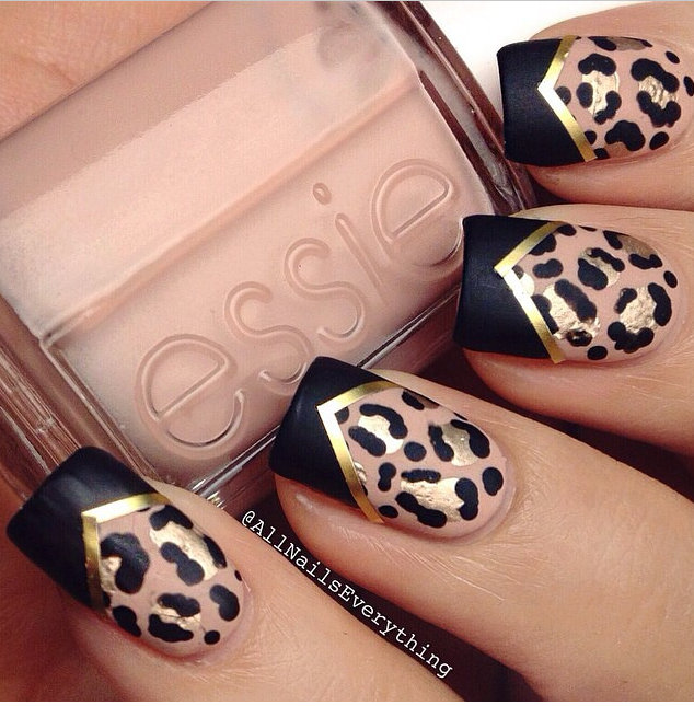 Unleash your inner jaguar and get your claws out with this daring bridal manicure | Confetti.co.uk