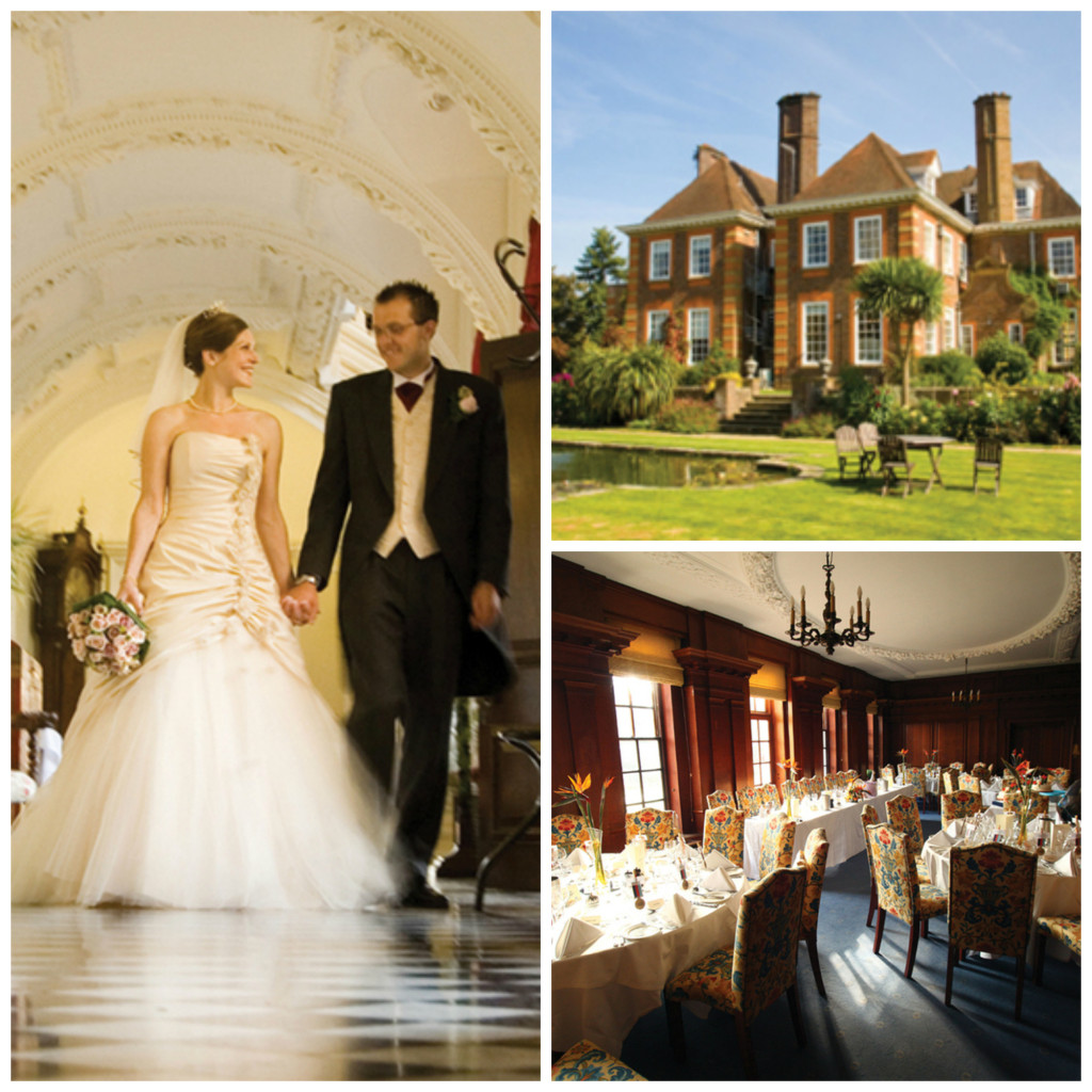 Escape to the countryside for an unforgettable wedding at Barnett Hill in Surrey.