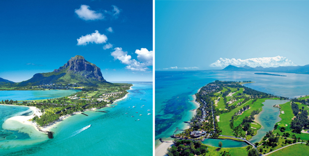 Mauritius weddingmoons island with ocean, beaches, and mountains | Confetti.co.uk