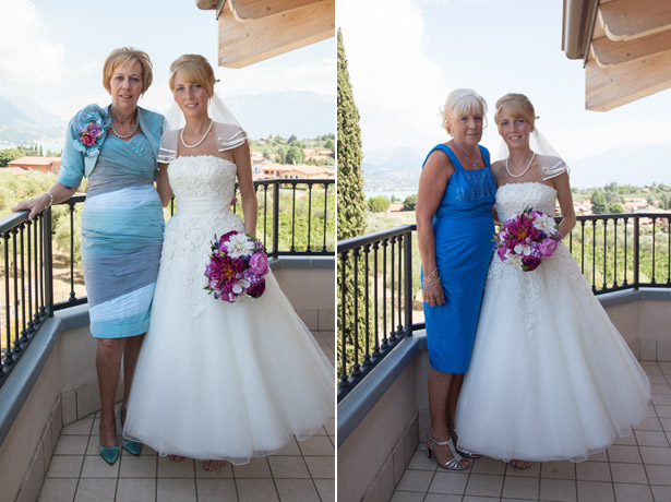 Mother of the Bride Wedding Duties | Mother of the Bride and mother of the groom in blue dresses with the bride | Confetti.co.uk
