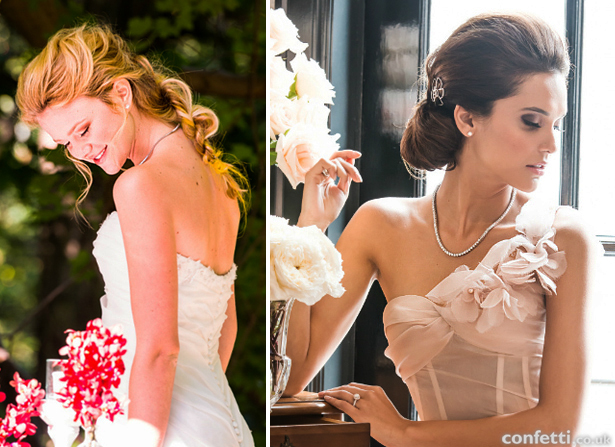 Vintage and classic bridal hair and makeup looks | Confetti.co.uk