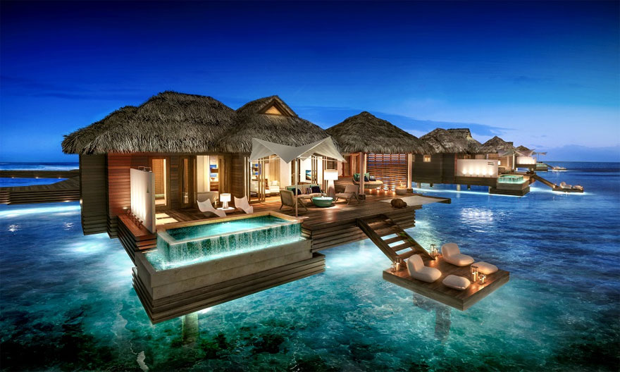 Sandals Royal Caribbean Over The Water Suite | Confetti.co.uk