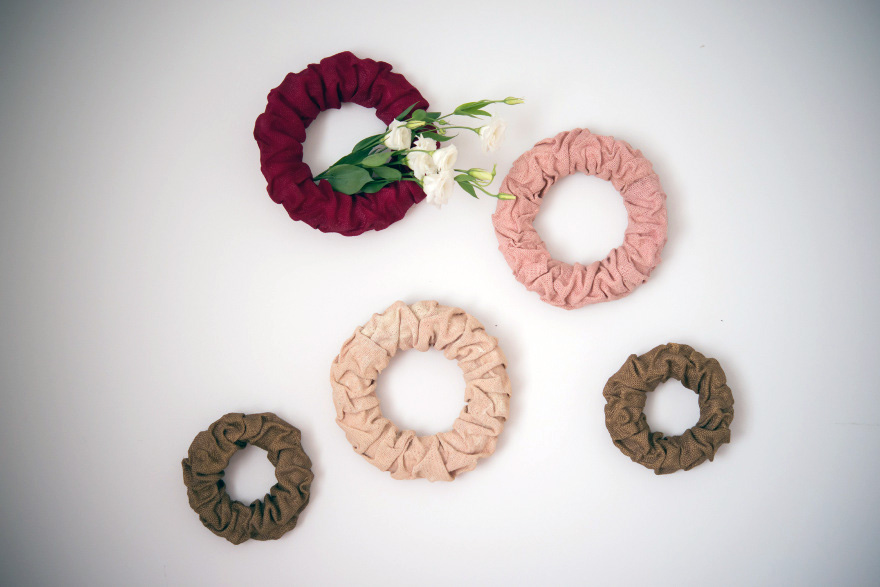 Wreath Decorations - Decorative wall wreaths with bunched flowers | Confetti.co.uk