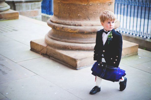 A very cultural page boy makes his grand entrance into the wedding venue | Confetti.co.uk