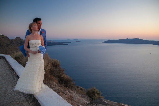 Dasha and Steve's Real Wedding In Greece | Marryme in Greece | Confetti.co.uk