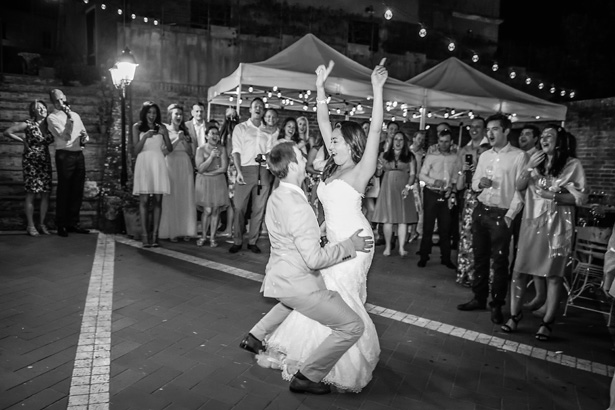 First dance to You Are The Best Thing, by Ray LaMontagne| Wedding reception at Villa Bucciano , Tuscany | Morgan and James Real Wedding By Infinity Weddings | Confetti.co.uk