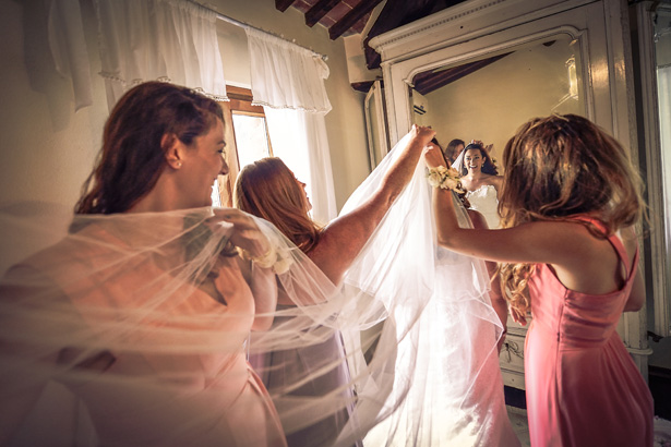 Morgan and James Destination Wedding in Tuscany