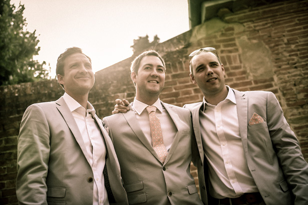 Groom with his best men | Morgan and James Real Wedding By Infinity Weddings | Confetti.co.uk