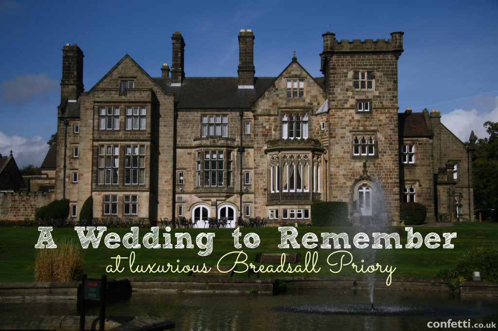 The luxurious Peak District located Breadsall Priory wedding venue | Confetti.co.uk