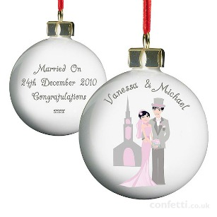 Christmas gift Personalised Christmas bauble