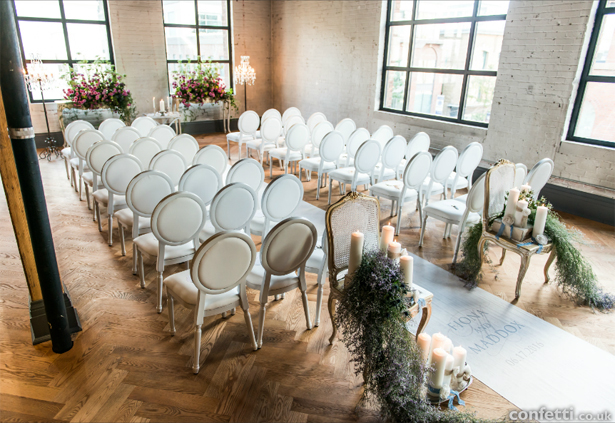Classic wedding seating layout | Confetti.co.uk