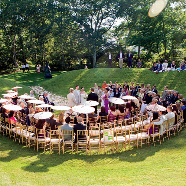 Outdoor Wedding Seating Ideas: Wedding Ceremony Seating Ideas