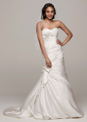 David's Bridal V3204 under £500 | Confetti.co.uk
