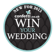 Win a Wedding Competion, the UK's largest wedding prize ever from Confetti.co.uk