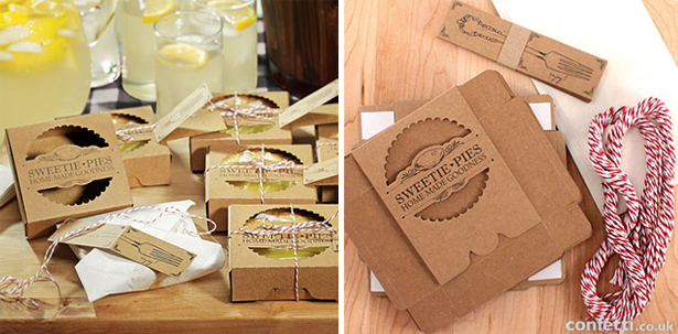 Sweetie Pies mini pie packaging | Confetti.co.uk