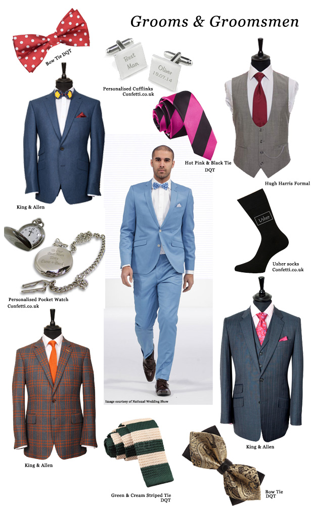 Groom and Groomsmen Autumn Wedding Trends | Confetti.co.uk